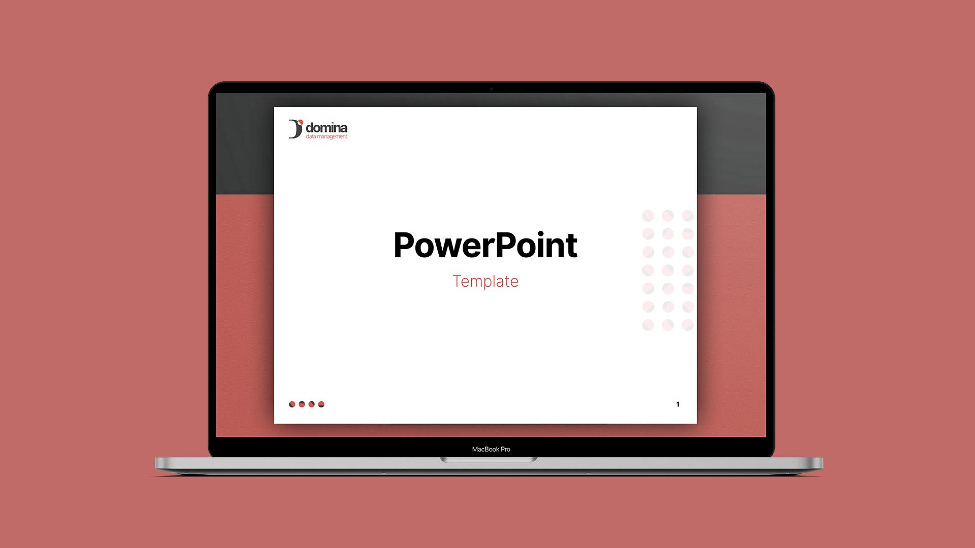 Elaborazione template PowerPoint