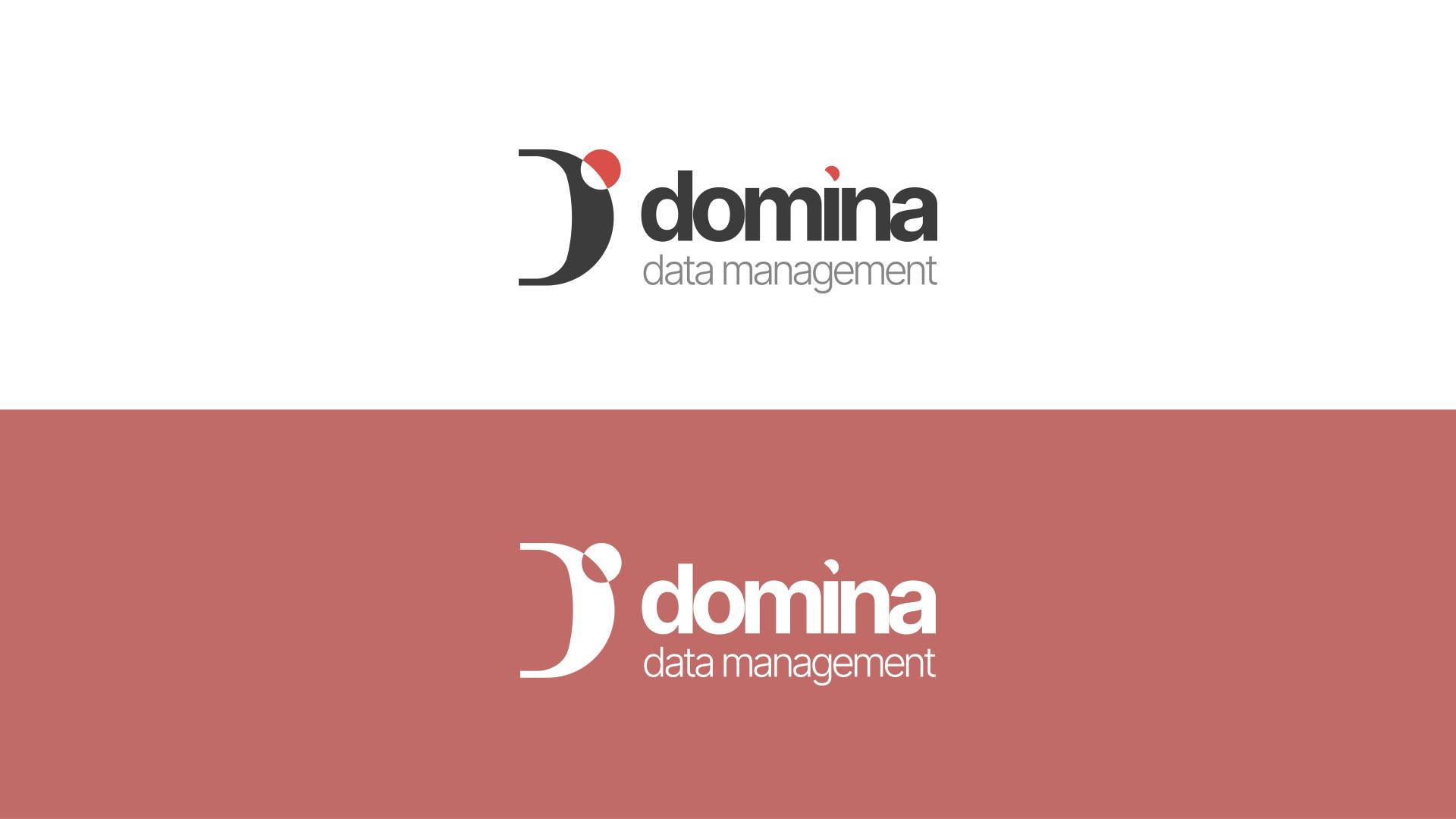 Versione in positivo ed in negativo del nuovo logo