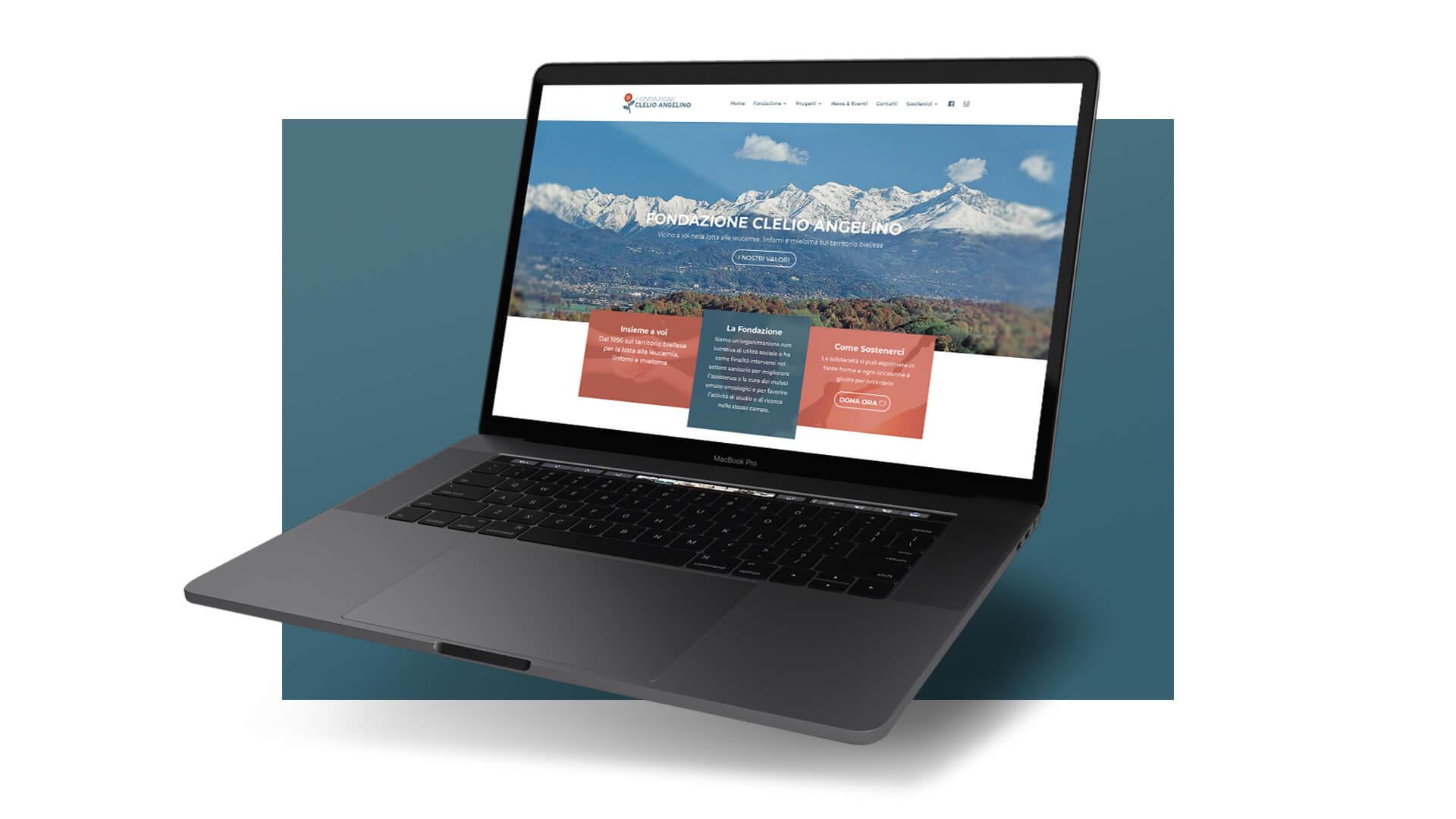 Sito Fondazione Angelino - Home Page